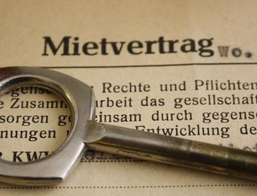 Расторжение договора аренды жилья в Германии